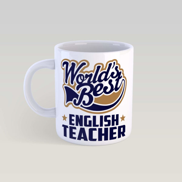 Кружка World's Best english teacher